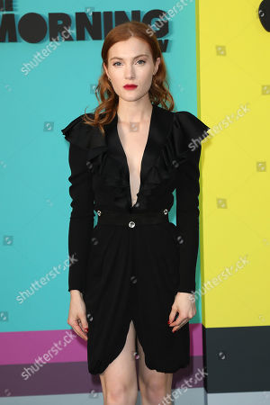 Editorial photo of Red Carpet Global Premiere Event for Apple TV+'s 'THE MORNING SHOW', New York, USA - 28 Oct 2019