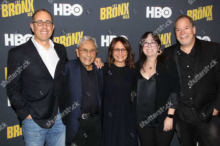 Stock Photo of Jerry Seinfeld, George Shapiro, Lisa Heller, Amiee Hyatt,Danny Gold