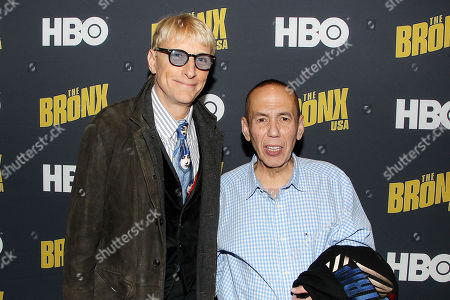 Stock Photo of Will Lee and Gilbert Gottfried