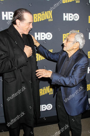 Chazz Palminteri and George Shaprio