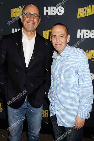 Jerry Seinfeld and Gilbert Gottfried