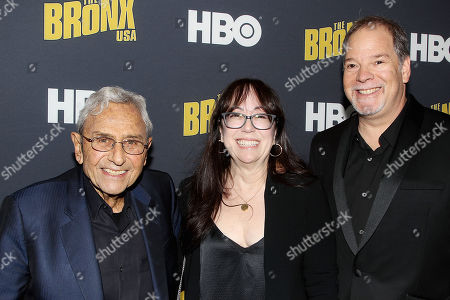 George Shapiro, Aimee Hyatt and Danny Gold