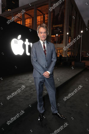 """Carter Burwell, composer, attends Apple's global premiere of """"The Morning Show"""" at Josie Robertson Plaza and David Geffen Hall, Lincoln Center for the Performing Arts, New York City on October 28, 2019. """"The Morning Show"""" debuts November 1 on Apple TV+, available on the Apple TV app."""