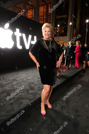 "Joan Lunden attends Apple's global premiere of ""The Morning Show"" at Josie Robertson Plaza and David Geffen Hall, Lincoln Center for the Performing Arts, New York City on October 28, 2019. ""The Morning Show"" debuts November 1 on Apple TV+, available on the Apple TV app."