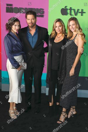 Sarah Kate Connick, Harry Connick Jr., Jill Goodacre, Georgia Tatum Connick