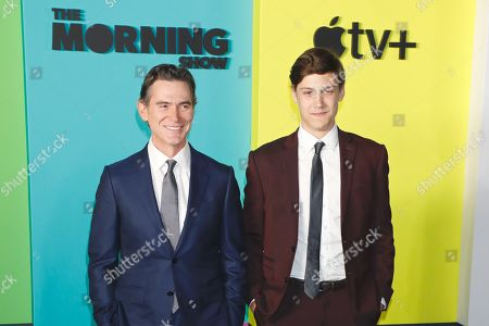 Stock Image of Billy Crudup and William Atticus Parker