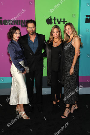 Sarah Kate Connick, Harry Connick Jr., Jill Goodacre and Georgia Tatum Connick