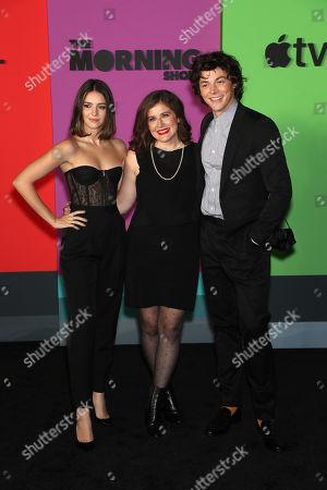 Ella Hunt, Alana Smith and Adrian Blake