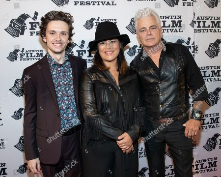 Stock Picture of Liam Booth, Diane Paragas and Dale Watson