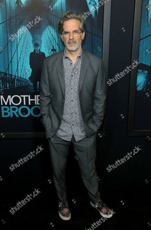 "Jonathan Lethem attends the LA Premiere of ""Motherless Brooklyn,"" at the Hollywood American Legion Post 43, in Los Angeles"