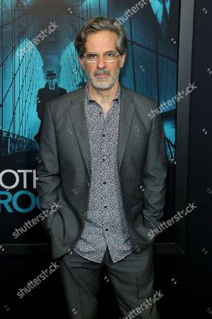 "Jonathan Lethem attends the LA Premiere of ""Motherless Brooklyn"" at the Hollywood American Legion Post 43, in Los Angeles"