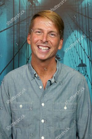 "Jack McBrayer attends the LA Premiere of ""Motherless Brooklyn"" at the Hollywood American Legion Post 43, in Los Angeles"