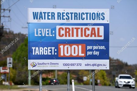 Editorial image of Australian town predicted to run out of water by Christmas, Stanthorpe, Australia - 16 Oct 2019