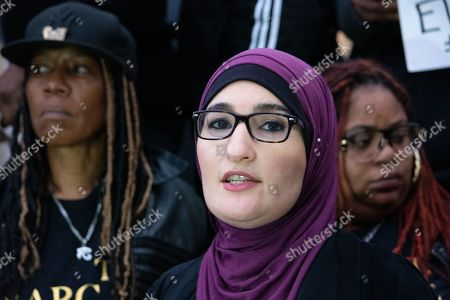 Linda Sarsour, moderator and co-founder of Until Freedom