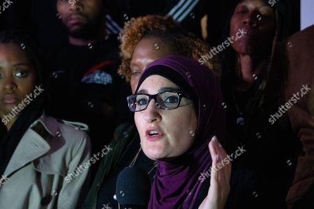 Editorial photo of National Day of Outrage for Atatiana Jefferson rally, New York, USA - 28 Oct 2019