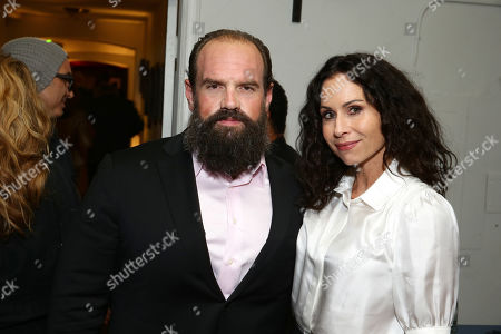 Ethan Suplee and Minnie Driver