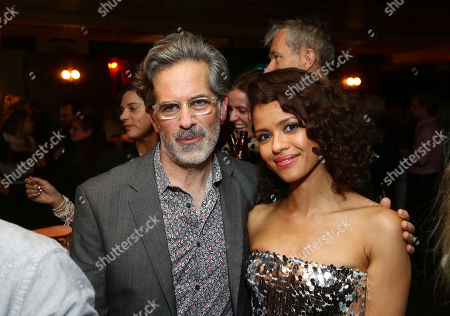 Stock Photo of Jonathan Lethem and Gugu Mbatha-Raw