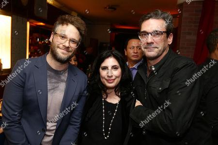 Seth Rogen and Sue Kroll Jon Hamm
