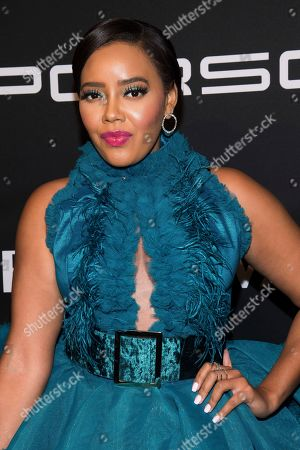 Angela Simmons attends the 2019 Angel Ball to benefit Gabrielle's Angel Foundation for Cancer Research at Cipriani Wall Street, in New York
