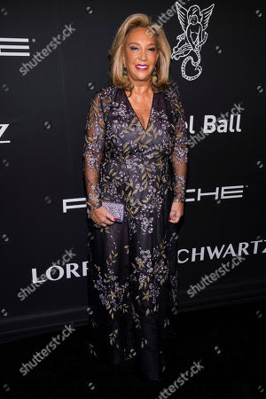 Denise Rich attends the 2019 Angel Ball to benefit Gabrielle's Angel Foundation for Cancer Research at Cipriani Wall Street, in New York