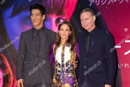 Editorial picture of Netflix 'Earthquake Bird' film, press conference, 32nd Tokyo International Film Festival, Japan - 29 Oct 2019