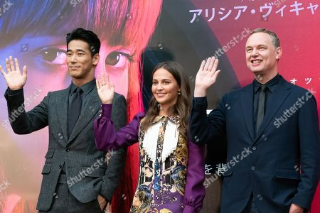 Editorial photo of Netflix 'Earthquake Bird' film, press conference, 32nd Tokyo International Film Festival, Japan - 29 Oct 2019