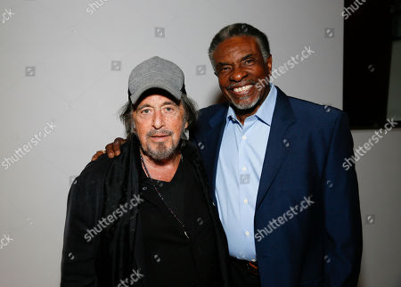 Al Pacino and Keith David