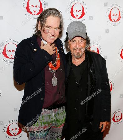 Stock Photo of Val Kilmer and Al Pacino