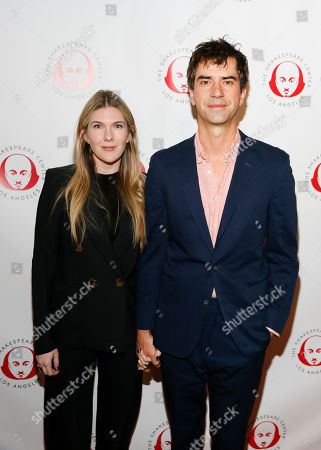 Stock Picture of Lily Rabe and Hamish Linklater
