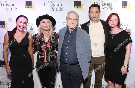 Editorial image of 'The Etruscan Smile' film premiere, Writers Guild Theater, Los Angeles, USA - 28 Oct 2019