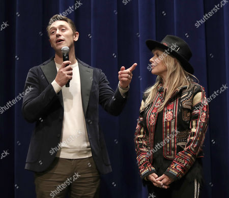 Stock Image of JJ Feild and Rosanna Arquette