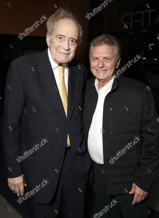 Producer Arthur Cohn and Meir Fenigstein