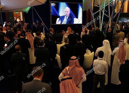 Editorial picture of Investment Forum, Riyadh, Saudi Arabia - 29 Oct 2019