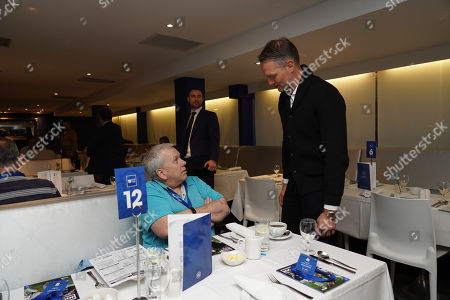 Clint Hill visits the W12 hospitality  Commercial and Marketing