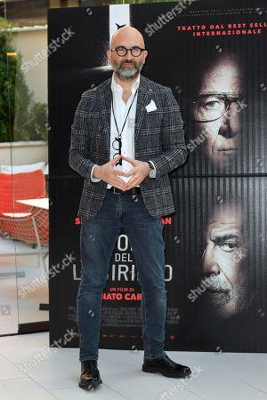 The director Donato Carrisi