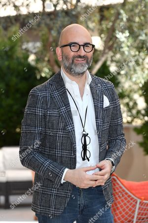 Stock Image of The director Donato Carrisi