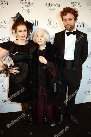 Helena Bonham Carter, Elena Propper de Callejon and Rye Dag Holmboe
