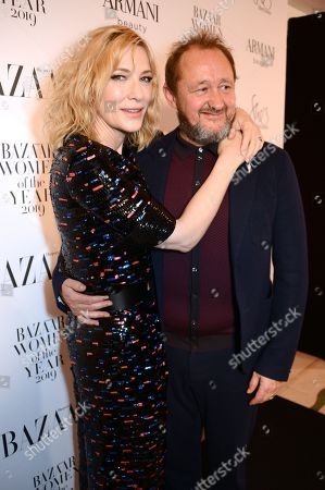 Stock Picture of Cate Blanchett and Andrew Upton