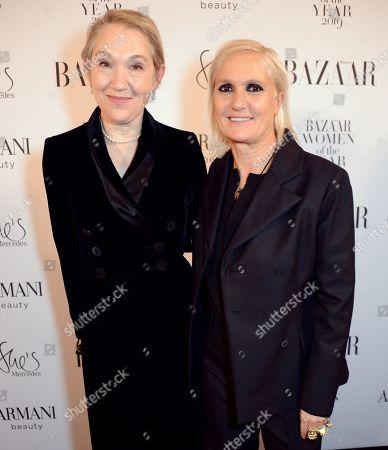 Editorial photo of Harper's Bazaar Women of the Year Awards, Claridge's, London, UK - 29 Oct 2019
