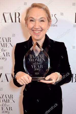 Justine Picardie winner of the Women of the Year award