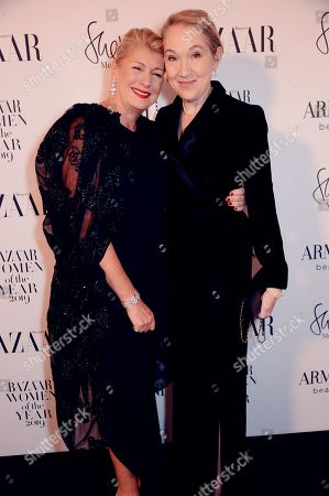 Jacqueline Euwe and Justine Picardie