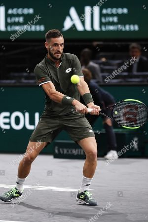 Editorial photo of Rolex Paris Masters tennis tournament, France - 28 Oct 2019