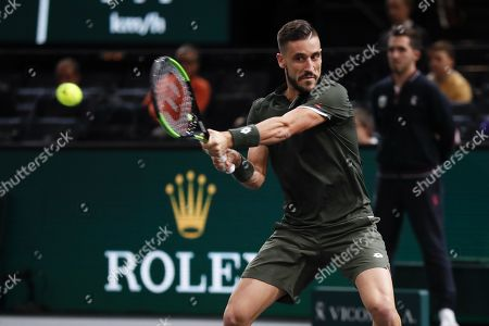 Editorial image of Rolex Paris Masters tennis tournament, France - 28 Oct 2019