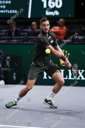 Editorial picture of Rolex Paris Masters tennis tournament, France - 28 Oct 2019