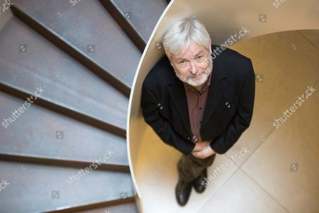 British writer Jonathan Coe poses during an interview in Barcelona, Spain, 29 October 2019, on the occasion of the presentation of the Spanish edition of his novel 'Middle England'.