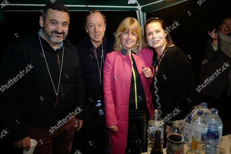 Guest, Geordie Greig, Rachel Johnson, Guest
