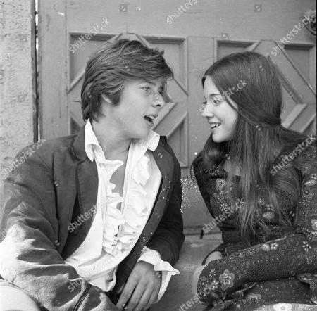 John Moulder-Brown as Anton and Lynne Frederick as Dora