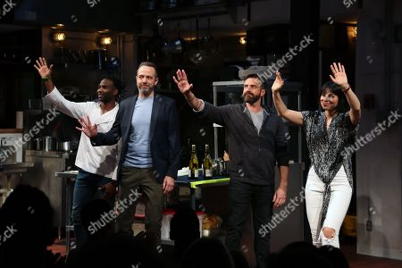 Editorial image of 'Seared' play opening night, New York, USA - 28 Oct 2019