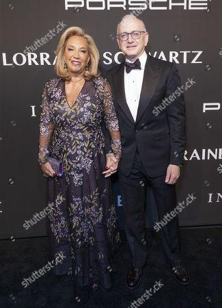Denise Rich and Stephen D. Nimer