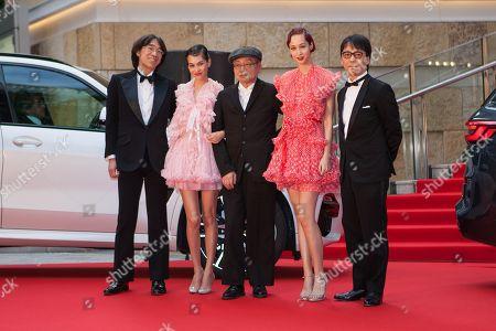 Taketoshi Sado, Kiko Mizuhara, Haruomi Hosono, Yuka Mizuhara